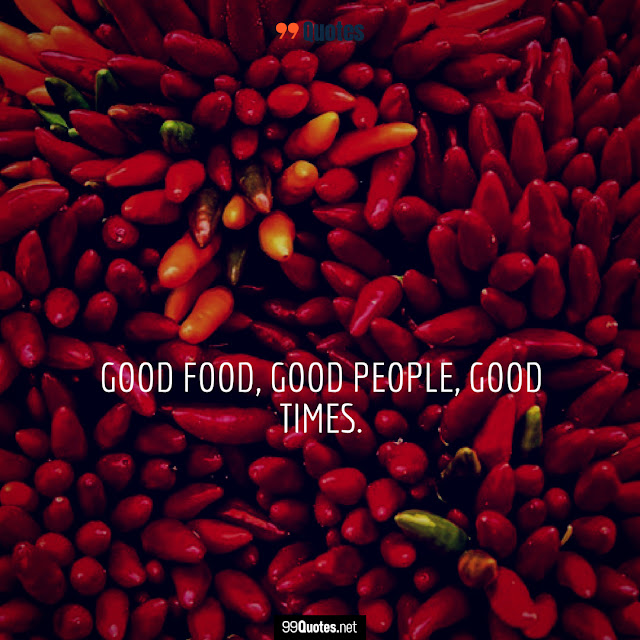 quote about good food