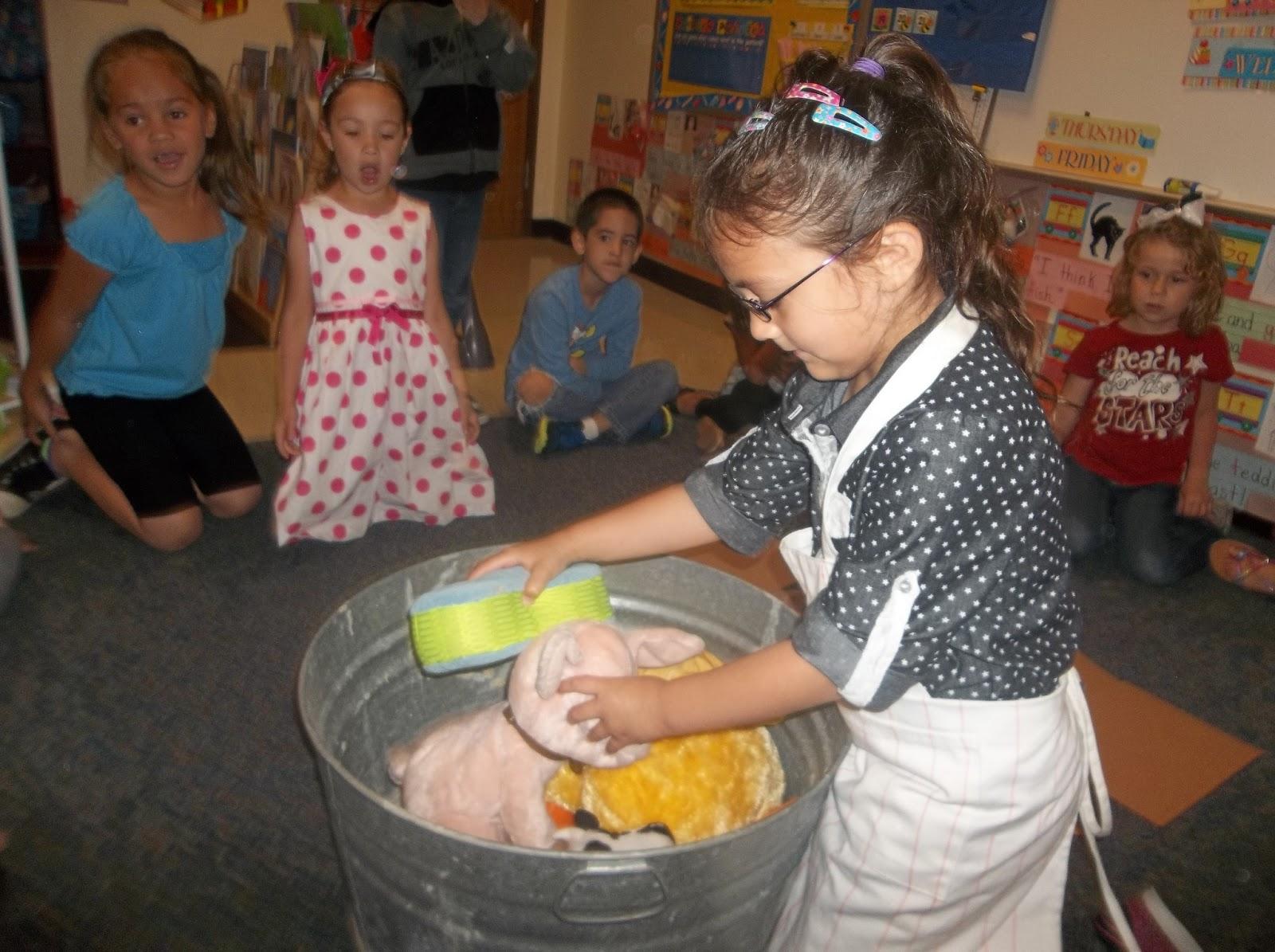 Mrs Wood S Kindergarten Class Ms Wishy Washy