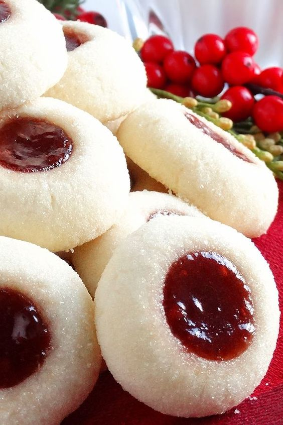 Grandma's Perfect Jam Thumbprint Cookies