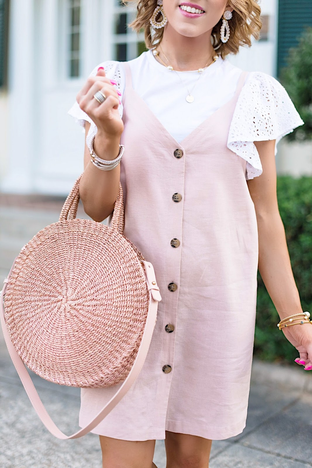 Pink and Eyelet - Something Delightful Blog