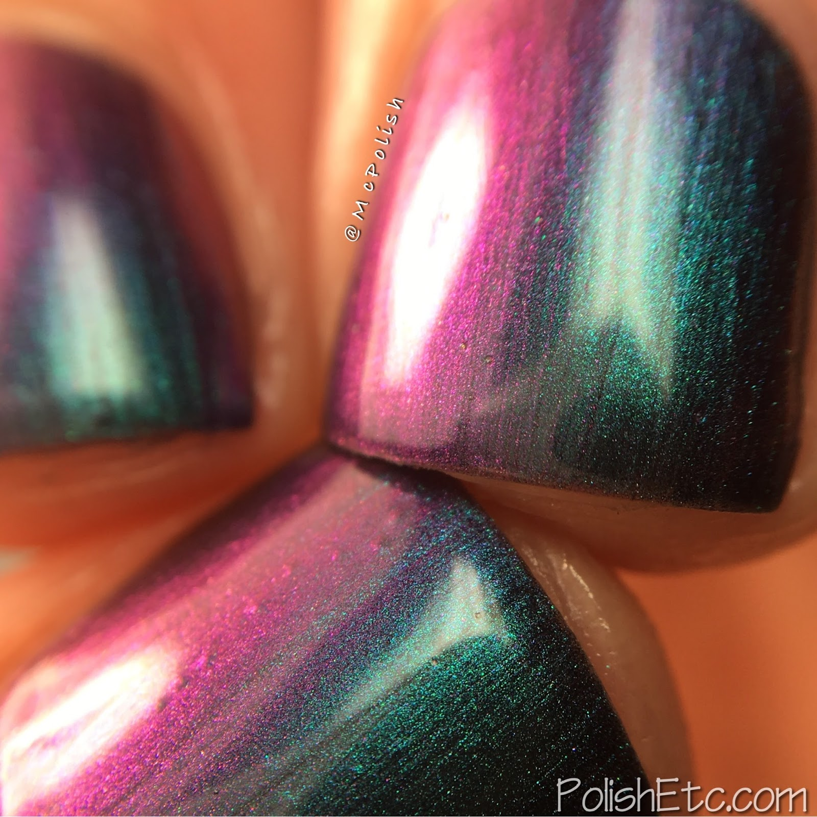 KBShimmer Multichromes Summer 2017 - McPolish - Iridescent Exposure