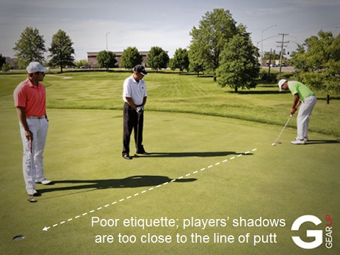 Rules of Golf: Where to Stand on the Putting Green