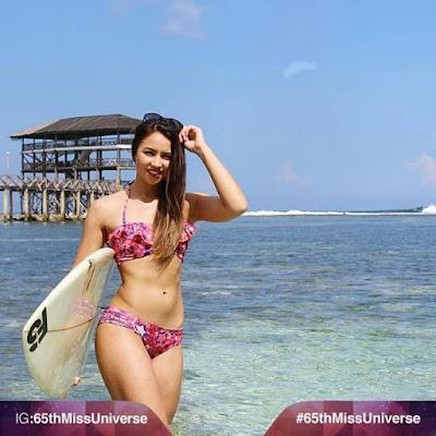 Miss New Zealand - Tania Dawson