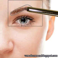 How to draw eyebrow