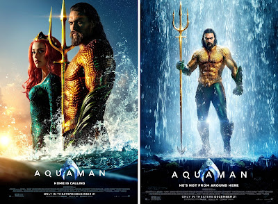 DC Comics' Aquaman Final Theatrical One Sheet Movie Posters & Banners