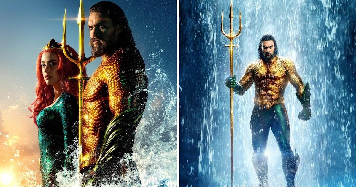 Poster DC Comics Aquaman One Sheet Jason Momoa