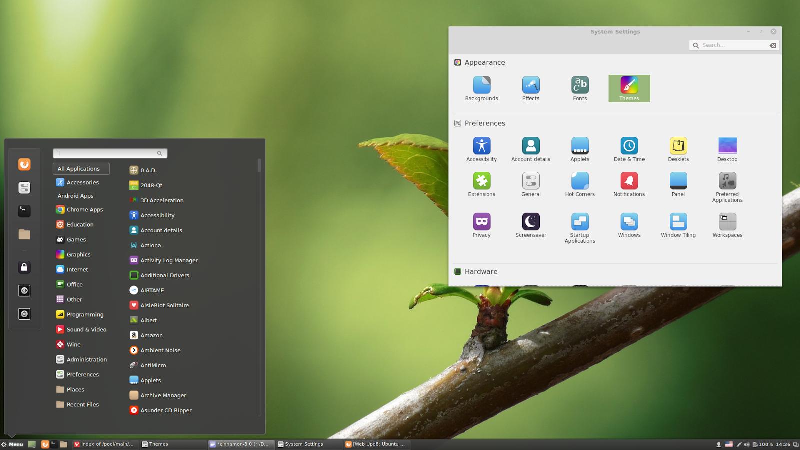 How to install cinnamon 30 in ubuntu 1604 or 1510 via ppa web cinnamon 30 ubuntu stopboris Image collections