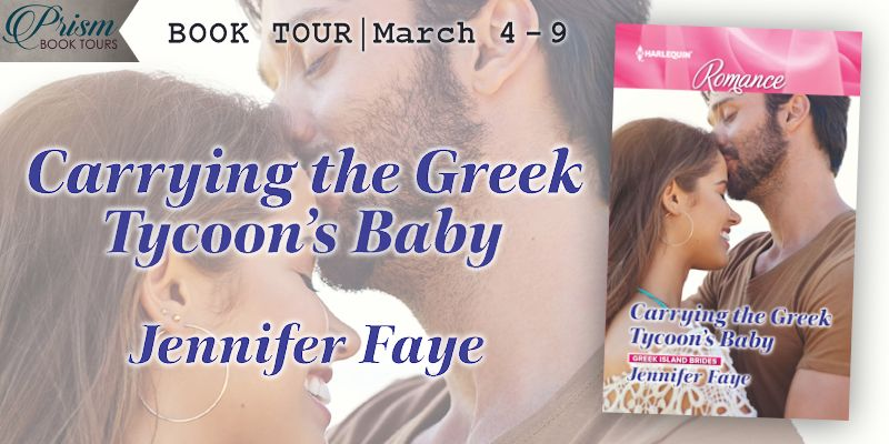 It's the Grand Finale for CARRYING THE GREEK TYCOON'S BABY by Jennifer Faye!