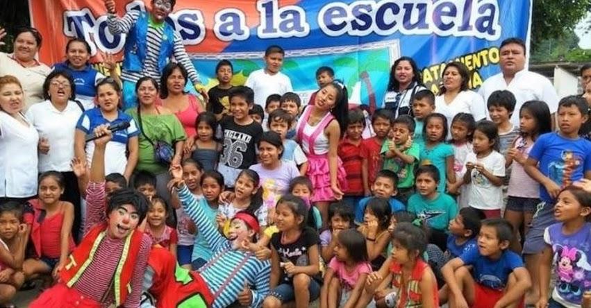 DRE San Martín elige a comunidad indígena para lanzar Buen Inicio Escolar 2017