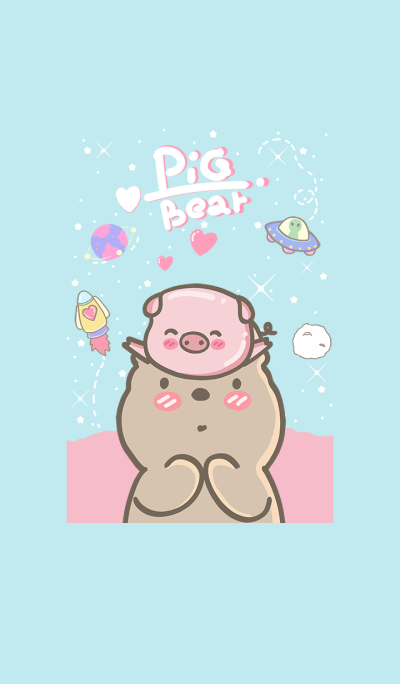 pig and bear (my universe2)