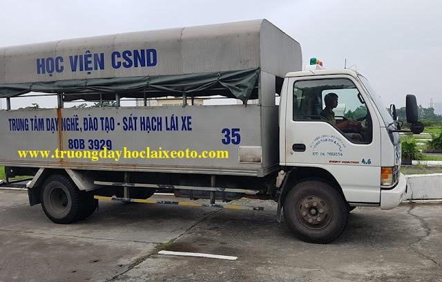 Xe tải 5 tấn ISUZU và Kia cho khóa học lái xe tải hạng C đời mới 2016