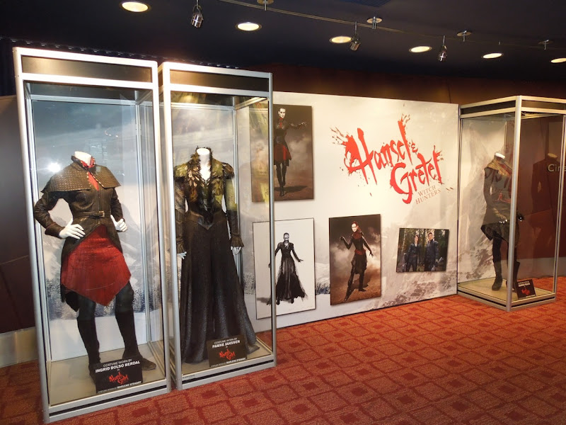 Hansel Gretel movie costume exhibit