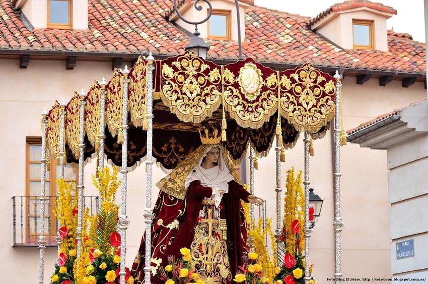 Virgen del Gran Poder. Foto G. Márquez. León. 2015. León