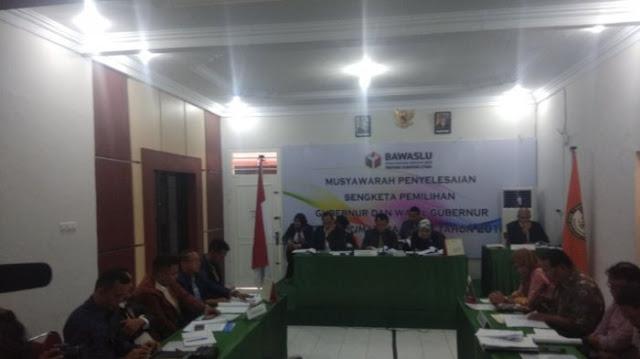 Sidang gugatan Pasangan Calon JR Saragih dan Ance, Jumat, (23/2)