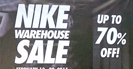 Manila Shopper Nike Warehouse Sale At Agilty Center