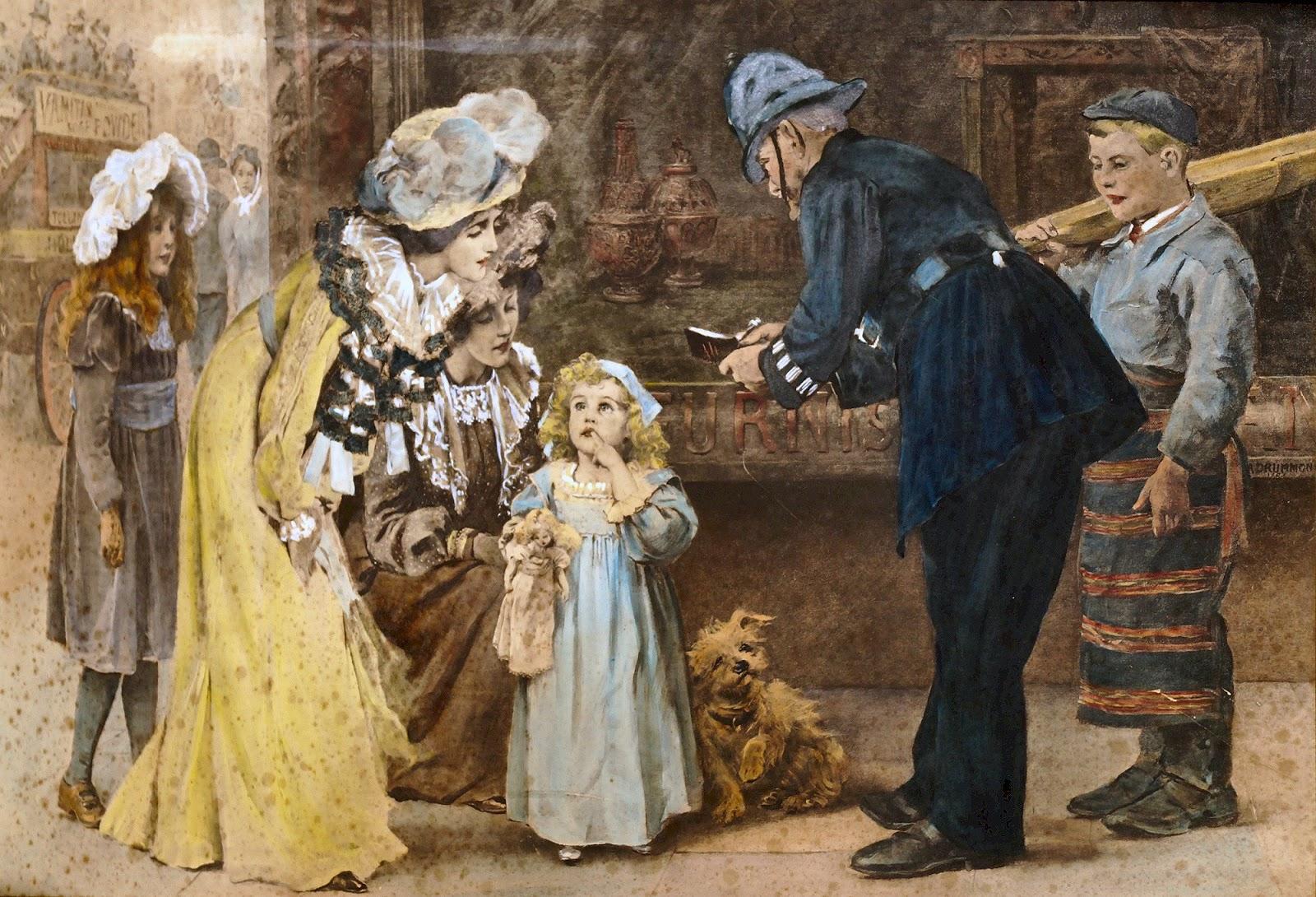 Arthur Drummond ~ Pintor classicista