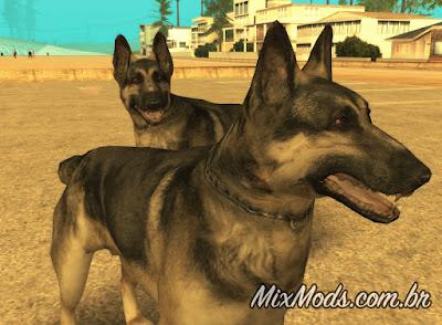 gta sa san mod animated dog anim cachorro
