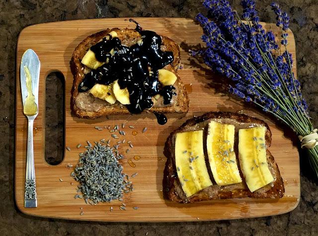 Recipe for Lavender Toast