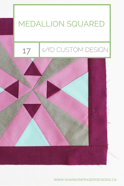 Medallion Squared | Free Quilt Block Pattern | Shannon Fraser Designs
