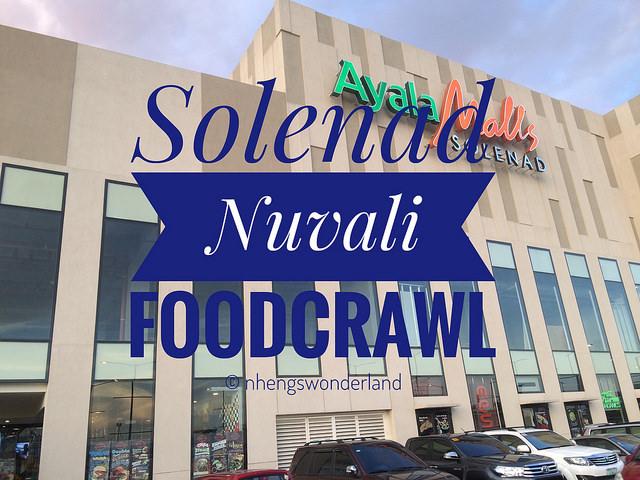 Solenad Nuvali Foodcrawl
