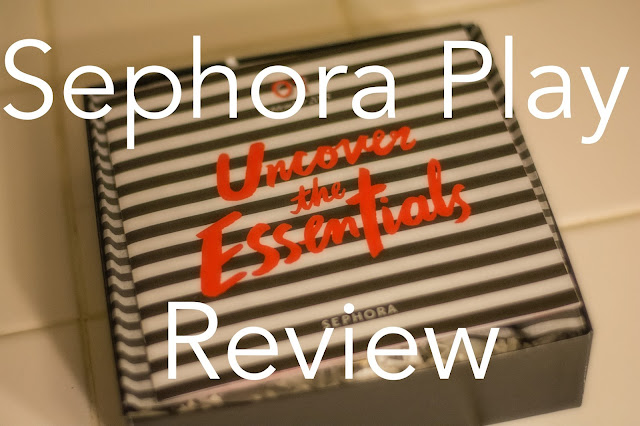 sephora review, birchbox comparison, play by sephora review, sephora play review