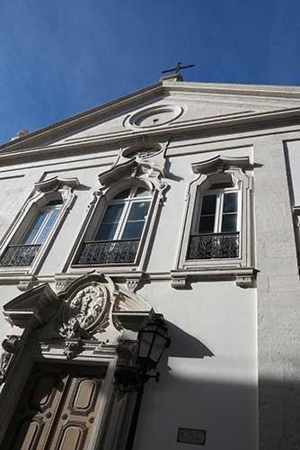 Igreja Paroquial do Santíssimo Sacramento, Lisbon.