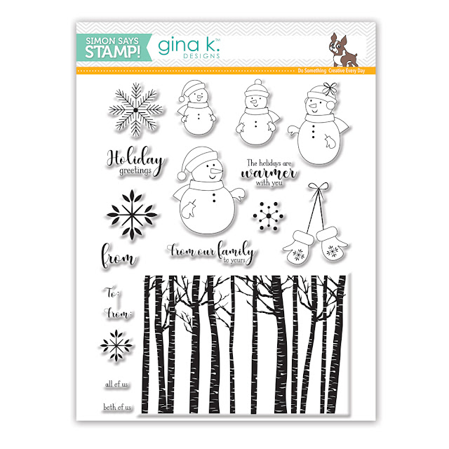 Warmer With You Stamp Set by Gina K Designs for Simon Says Stamp Stamptember