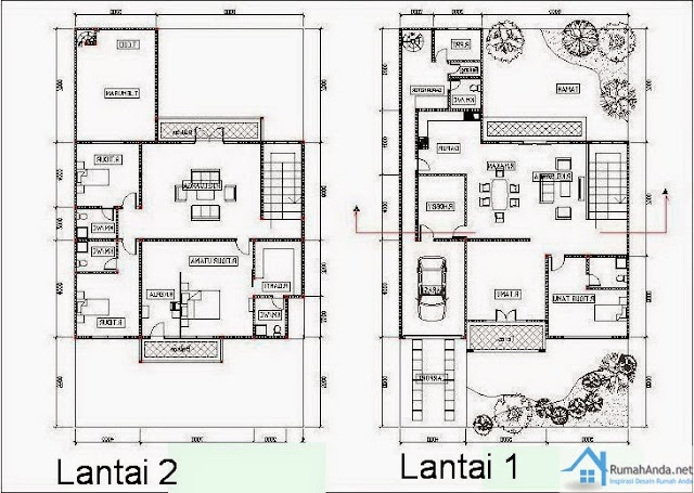 Image Result For Denah Rumah Type