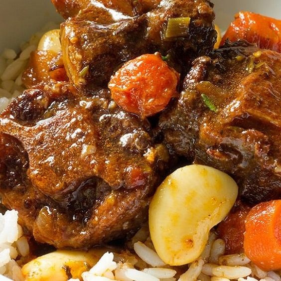 Slow Cooker Oxtail Stew Recipe