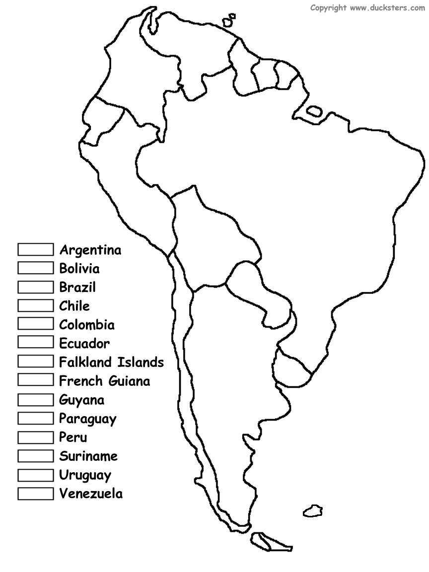 Homeschooling with a Classical Twist: South America Color ...