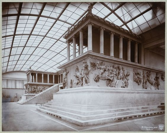 The Pergamon Alter Pergamon Museum and Altes Museum (Both on Berlin's Museum island), Germany