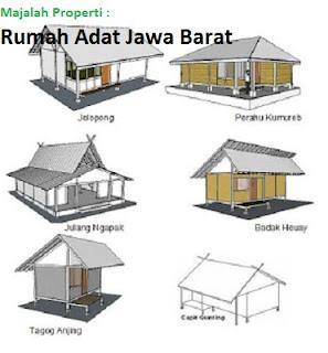Desain Bentuk Rumah Adat Di Jawa Barat Dan Penjelasannya Rumah