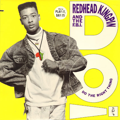 Redhead Kingpin And The FBI – Do The Right Thing (1989) (Promo VLS) (FLAC + 320 kbps)