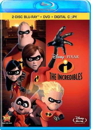 The Incredibles 2004 Dual Audio