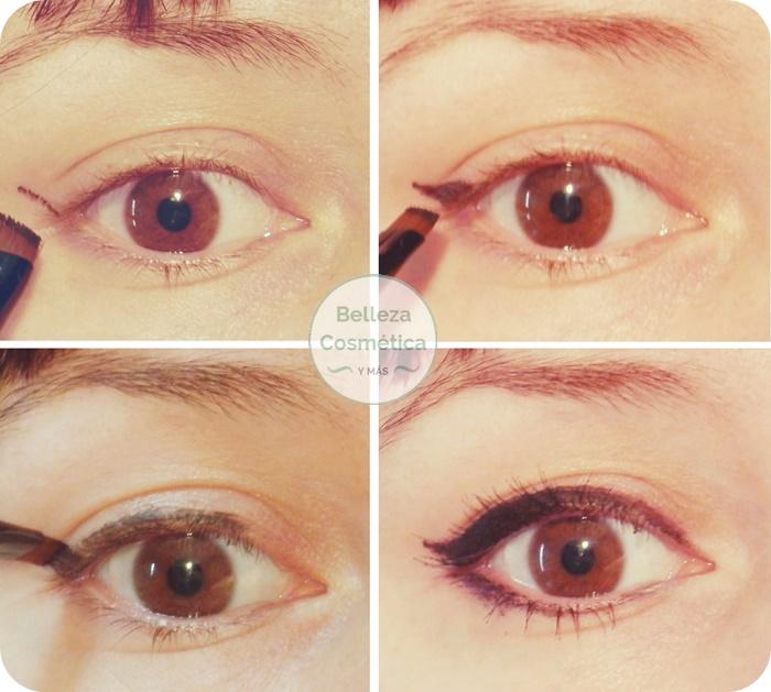 eyeliner para torpes rabillo ojo