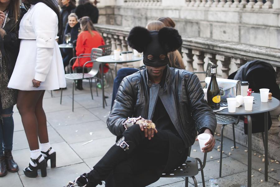 London Fashion Week Street Style Part 1.