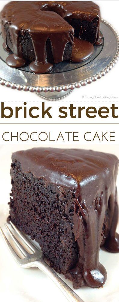Famous Brick Street Chocolate Cake - Dessert Recipes