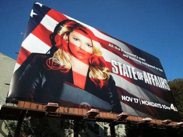 State of Affairs series premiere billboard