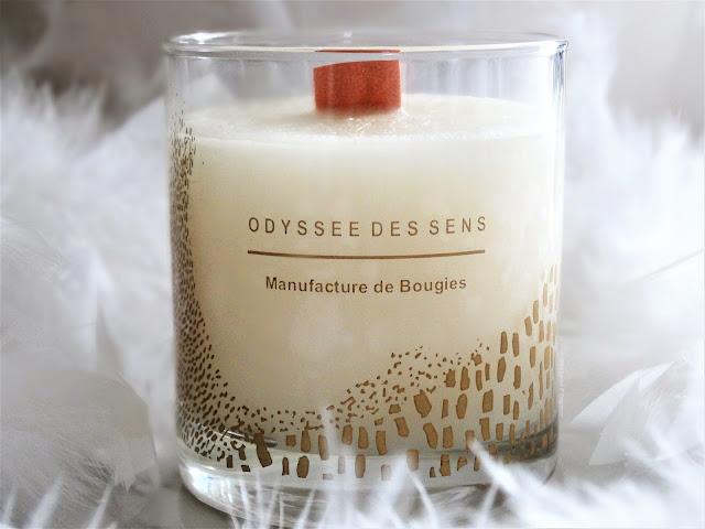 avis Ambre de Odysée des Sens, avis odyssée des sens, bougie parfumée, blog bougie, candle review