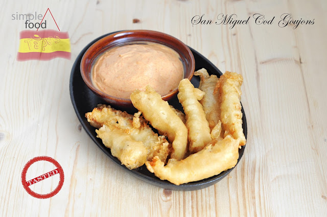 San Miguel Cod Goujons - Simple Food