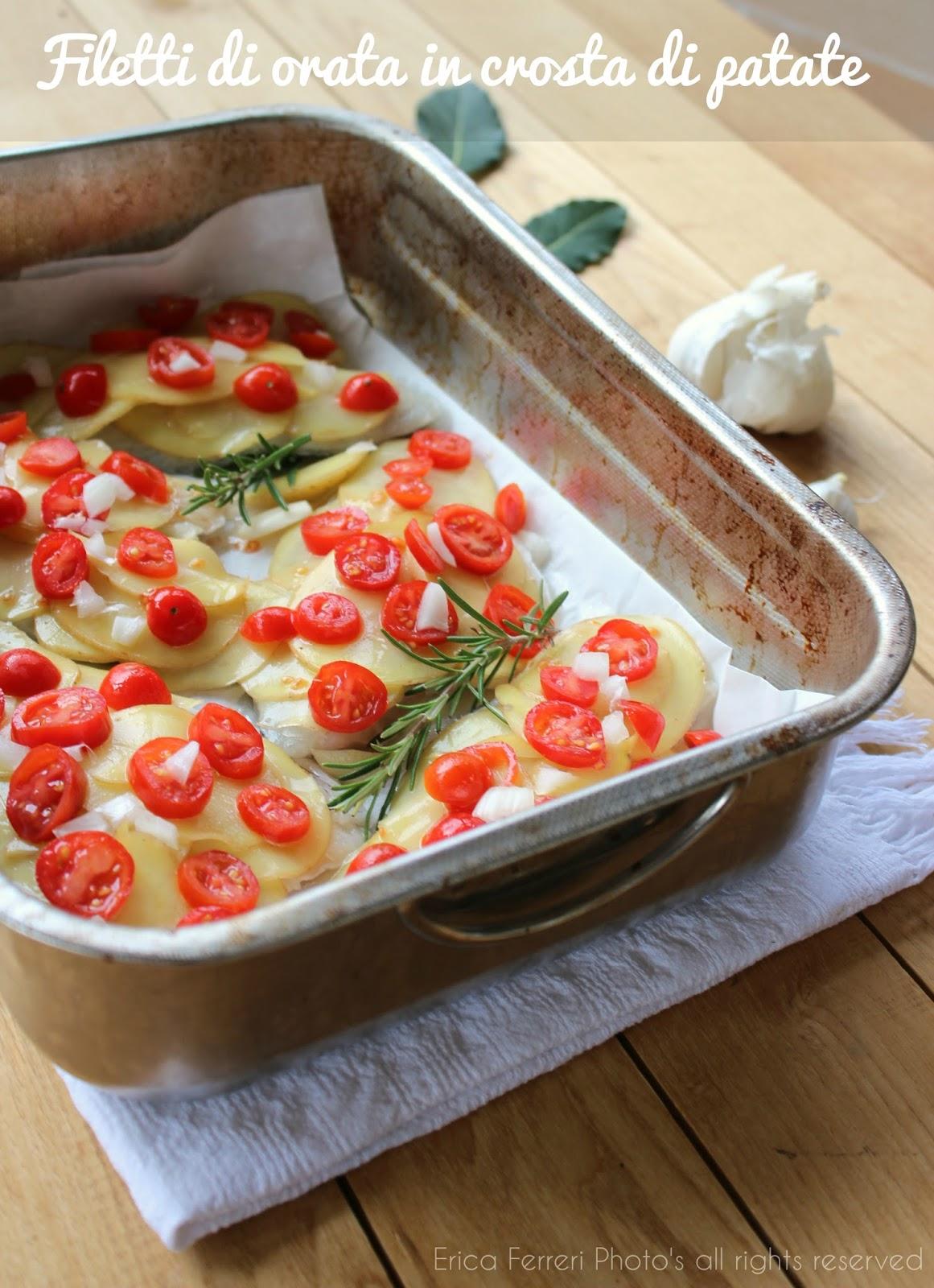 Disegno cucinare filetti di branzino : Ogni riccio un pasticcio - Blog di cucina: Filetti di orata con ...