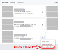 how to delete facebook secret group