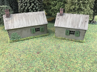 15mm scale Russian cottages