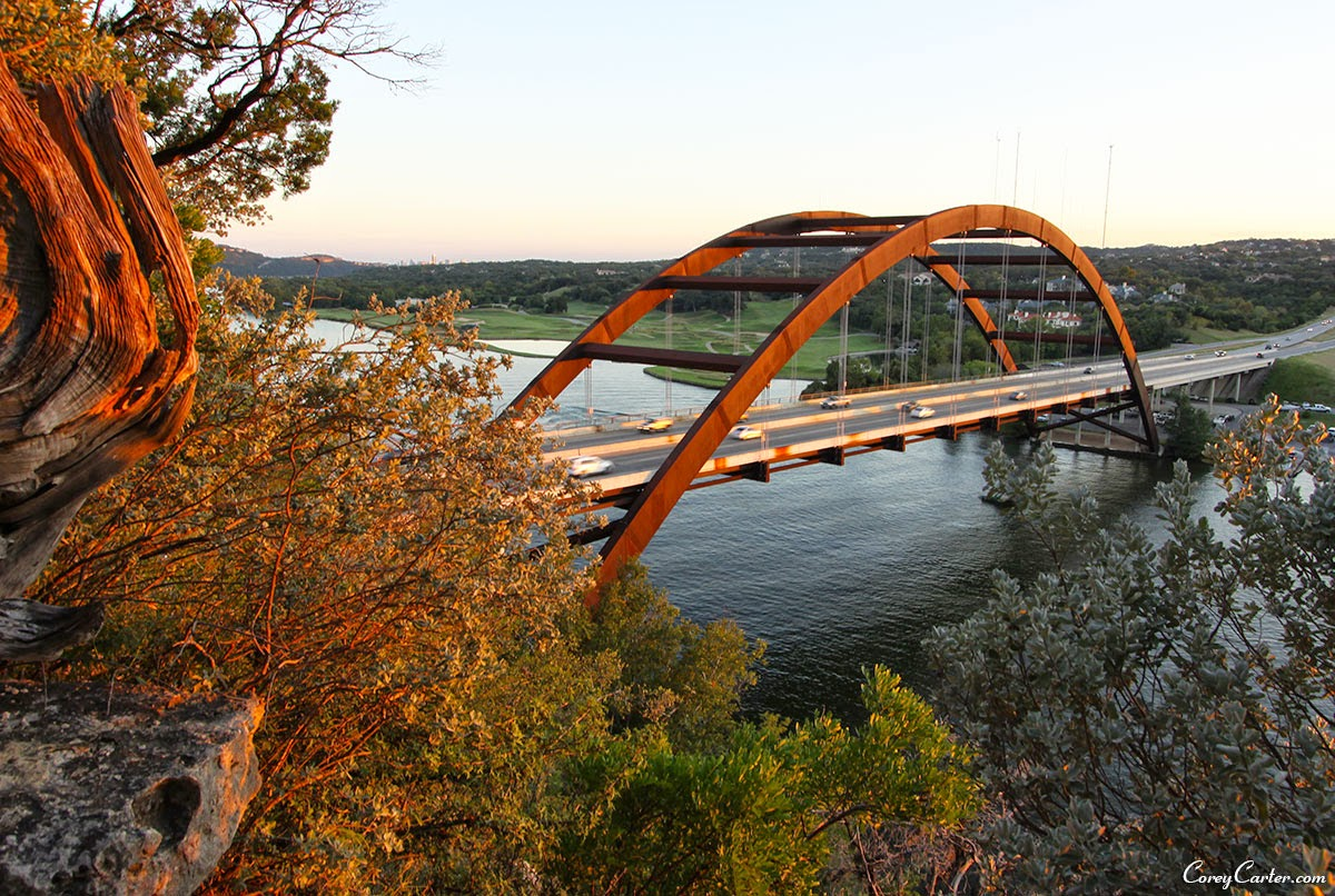 Pennybacker Bridge - Austin, TX - Sunset