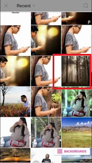 Cara Mengedit Foto Bokeh Di PicsArt