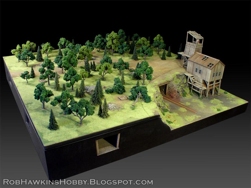 Rob Hawkins Hobby Wwx Terrain Mine Tunnels
