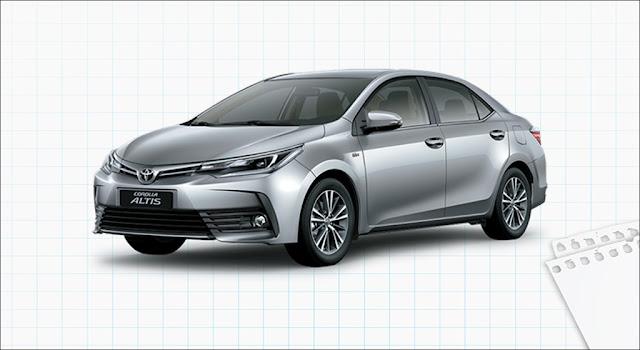 Giá xe Toyota Corolla Altis 2.0V Luxury CVT 2019