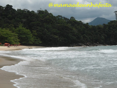 Praia da Caçandoca - Ubatuba