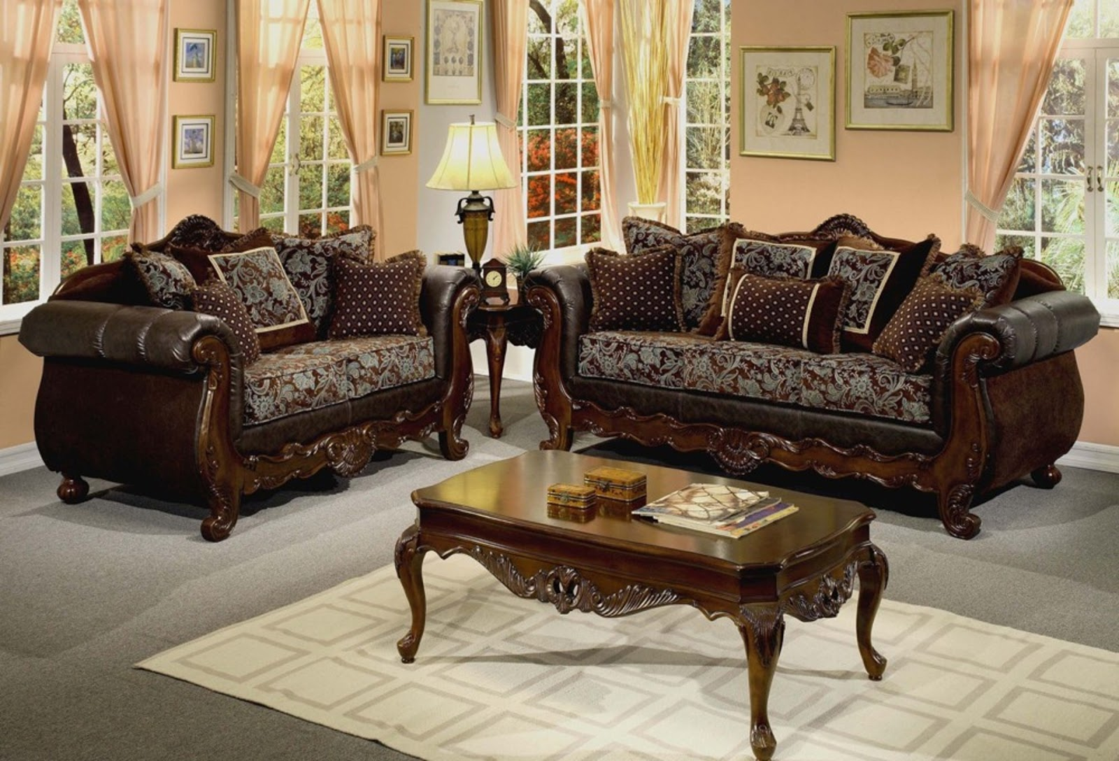Complete your living room with their warm look vintage sectional sofa or couch sets will be suitable to pair other furniture set since those neutral