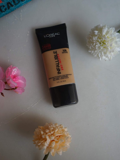 Loreal Infallible Pro Matte Foundation Review